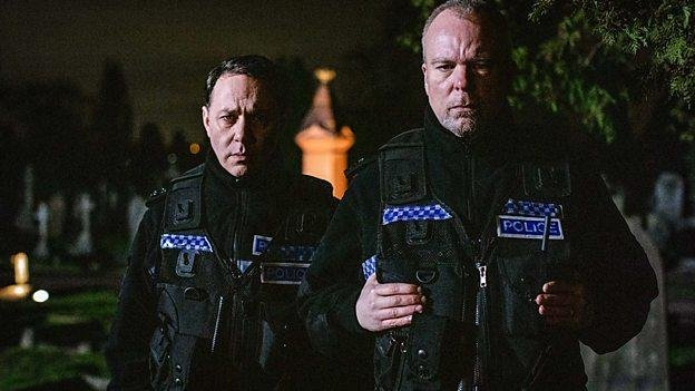 Reece Shearsmith and Steve Pemberton are returning for two more seasons of the anthology Inside No. 9. Photo courtesy of the BBC