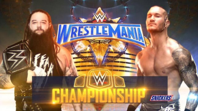 Bray Wyatt is set to defend his WWE Championship against Randy Orton at WrestleMania. In a new interview, Orton has said his feud with Wyatt has been the most fun he's had in a long time. Photo courtesy of WWE/Twitter