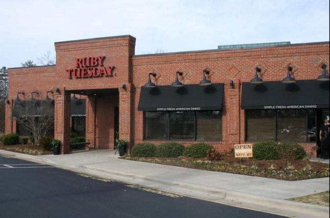 The 185 Ruby Tuesday locations that will permanently close have already been shut down since the beginning of the pandemic, the company said. File Photo by Ildar Sagdejev/Wikimedia