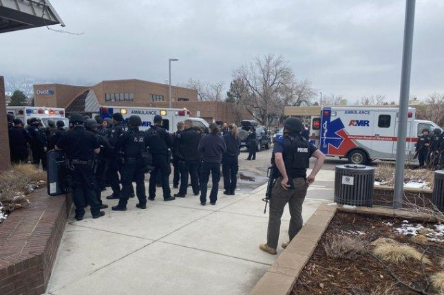 Boulder, Colo., Police Department Chief Maris Herold said 10 people, including Boulder Police Officer Eric Talley were killed in a shooting atKing Soopers supermarket. Photo courtesy Boulder Police Dept./Twitter