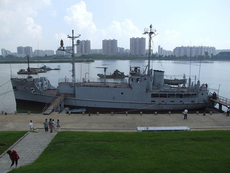 USS Pueblo: North Korea displays captured spy ship