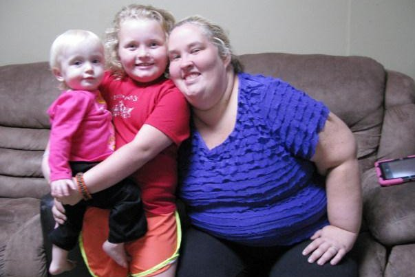 June 'Mama June' Shannon with daughter Alana 'Honey Boo Boo' Thompson. (TLC)