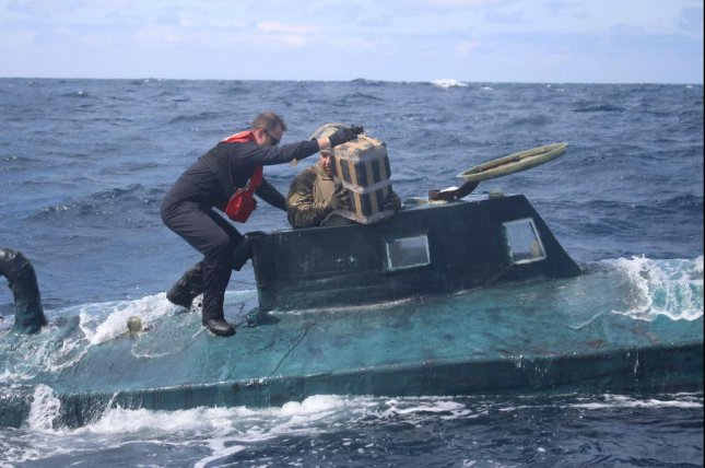 US Coast Guard captures submarine carrying $165M of cocaine