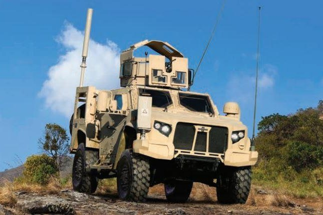 Oshkosh Defense on Tuesday was awarded a $127.7 million contract to provide 248 more Joint Light Tactical Vehicles for the U.S. Army, Marines and State Department. Photo courtesy of Oshkosh Defense