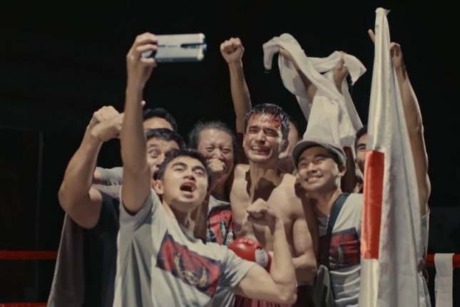 Gensan Punch features a cast of real-life boxers and fight scenes that were unchoreographed. Photo courtesy of Busan International Film Festival