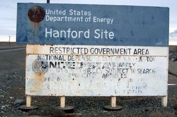 The Hanford Nuclear Reservation declared an emergency after a portion of a tunnel that contained rail cars full of nuclear waste collapsed. Railcars with the highly contaminated materials at the closed plant were moved into waste disposal tunnels. Photo by Tobin Fricke/Wikimedia Commons