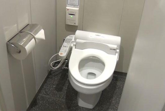 Firm unveils app to make toilet time at Japanese offices more ...