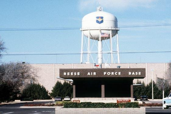 Research began this week on carcinogens in groundwater at the former Reese Air Force Base, Texas. Photo courtesy of U.S. Air Force