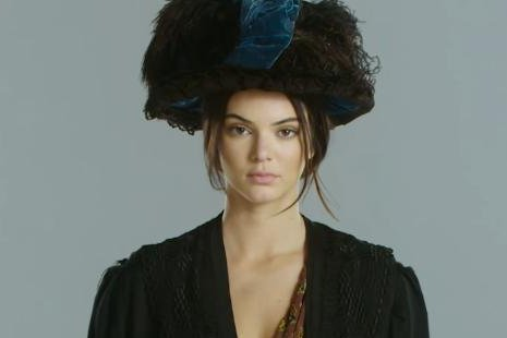 Kendall Jenner appears in Independent Journal's 'Rock The Vote' promotional video. Photo by Independent Journal/YouTube