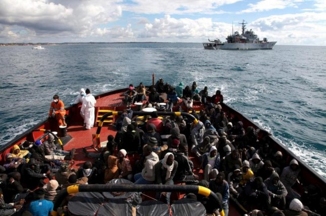 A United Nations spokeswoman said nearly 250 people are feared dead or missing after two shipwrecks occurred Friday and Sunday, respectively, in the Mediterranean Sea. Photo courtesy of United Nations High Commissioner for Refugees