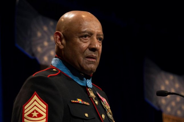 A future expeditionary sea base ship will be named after Medal of Honor recipient Sgt. Maj. John L. Canley, the Secretary of the Navy announced on Tuesday. Photo by Cpl. Daisha Johnson/U.S. Marine Corps