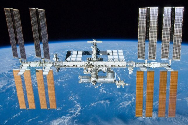 Astronauts have slowed a small air leak in the Russian segment of the International Space Station. Photo by NASA