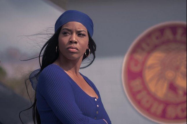 Brandee Evans' character Mercedes wants to leave the strip club and teach dance full time. Photo courtesy of Starz