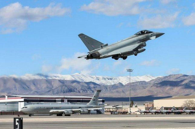 British defense officials say Scottish military bases will be home to several new defense capabilities by 2020. Pictured, a Royal Air Force Typhoon takes off from Lossiemouth, of the branch's three fast jet bases. U.K. Royal Air Force photo by Sgt. Neil Bryden