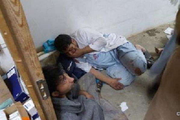 A total of 42 people died after a hospital operated by Doctors Without Borders in Kunduz, Afghanistan, was bombed in a U.S.-led coalition airstrike in October. The Pentagon has reportedly disciplined 16 service members involved in the attack, which was described as a mistake. Photo courtesy of Médecins Sans Frontières/Twitter