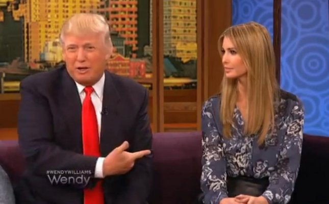 Donald Trump played the Fave Five game with daughter Ivanka on the Wendy William program and in true Trump fashion, had a totally inappropriate answer. (YouTube screenshot via Wendy Williams)