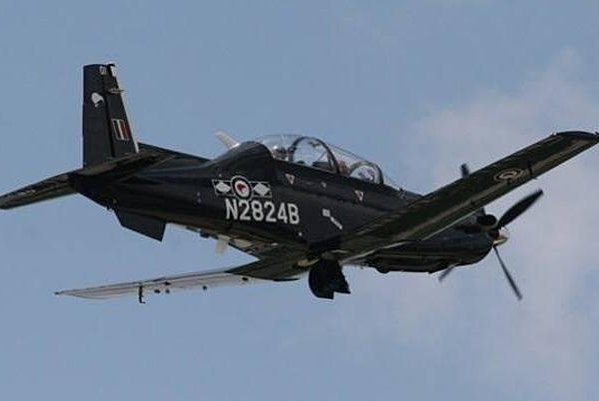 A T-6 Trainer of the Royal New Zealand Air Force. NZ Air Force photo