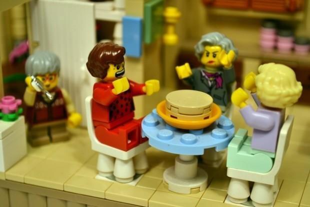The Golden Girls LEGO set. Photo courtesy of LEGO Ideas.