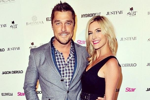 Chris Soules (L) and Whitney Bischoff have ended their engagement. Chris Soules Instagram