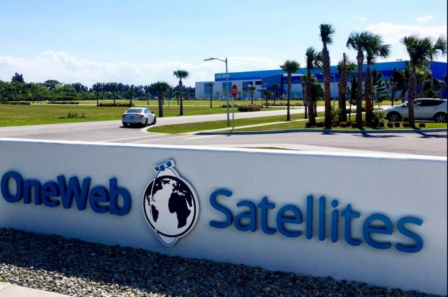 OneWeb Satellites' new location in Florida is just across the street from Blue Origin's rocket factory. Photo by Paul Brinkmann / UPI)