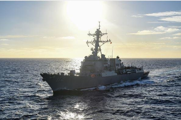 The destroyer USS Michael Murphy will undergo repairs and upgrades during the next eight months under a $32.1 million contract awarded Thursday. Photo by MCS3 Kurtis Hatcher/U.S. Navy