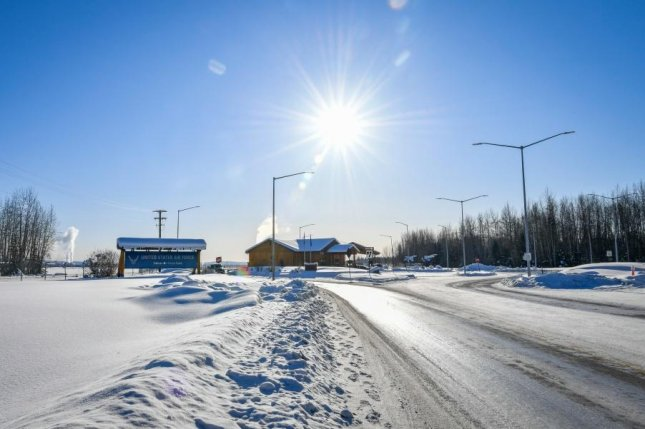 Five companies, most based in Alaska, received $350 million in contracts for road construction and maintenance at five Alaska military bases, includingEielson Air Force Base, shown here in February. Photo by Diana Cossaboom/U.S. Air Force