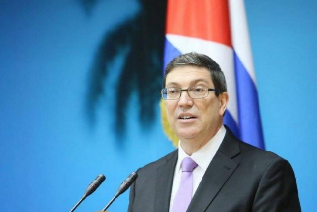 Cuban Foreign Minister Bruno Rodríguez Parrilla on Monday said Cuba will not negotiate after President Donald Trump announced a hard-line U.S. policy shift toward Cuba. Photo courtesy of Cuban Foreign Ministry