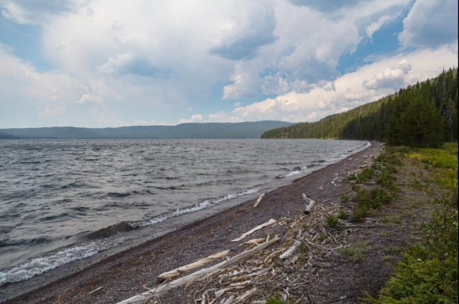 A search of Shoshone Lake in Yellowstone National Park for a missing man has turned into a recovery. Photo by Jacob W. Frank/National Park Service