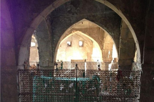 Jewish officials in the Kurdistan region are warning the tomb of the Hebrew prophet Nahum and his sister in Alqosh, Iraq, is in danger of collapsing. File Photo by Wikimedia Commons/Chaldean