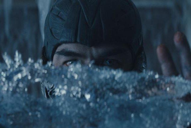 Sub-Zero (Joe Taslim) turns ice into a deadly weapon. Photo courtesy of Warner Bros.
