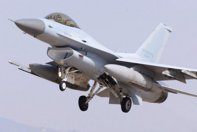 The State Department approved a $194 million sale of upgrades to South Korea's fleet of F-16 fighter planes. Photo courtesy of Republic of Korea Air Force