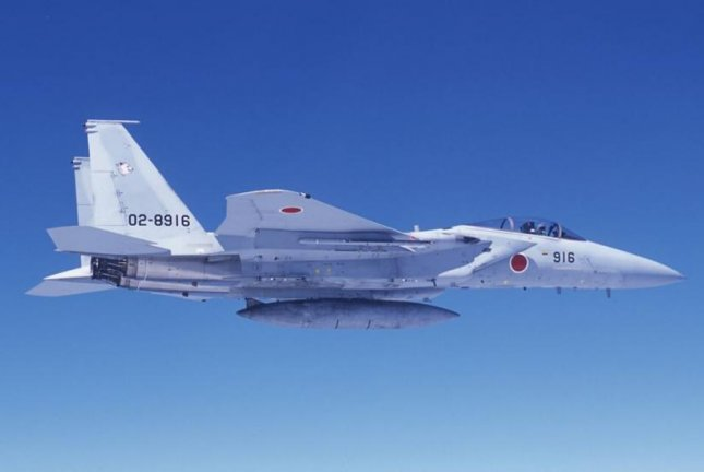 The U.S. State Department approved a potential $4.5 billion package of upgrades to the F-15J fighter plane fleet of the Japan Air Self-Defense Force on Tuesday. Photo courtesy of Japan Air Self-Defense Force
