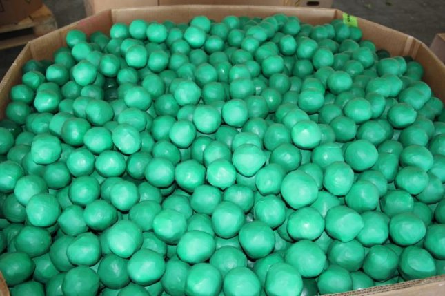 Customs agents in Texas found 34,764 small packages of marijuana disguised as limes in a commercial shipment. Photo courtesy of U.S. Customs and Border Protection