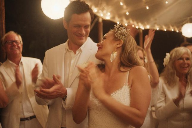 Tom Everett Scott (L) and Alicia Silverstone star in Sister of the Groom. Photo courtesy of Saban Films