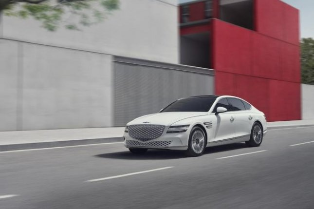 Genesis, South Korean automaker Hyundai Motor's luxury brand, has launched its first electrified model, the G80 EV. Photo courtesy of Hyundai Motor
