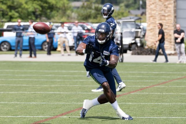 The Seattle Seahawks selected former Mississippi wide receiver D.K, Metcalf with the last pick in the second round of the 2019 NFL Draft. Photo courtesy of the Seattle Seahawks