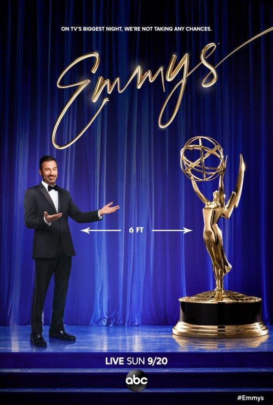 Jimmy Kimmel will host the 72nd Primetime Emmy Awards Sunday on ABC. Photo courtesy of ABC