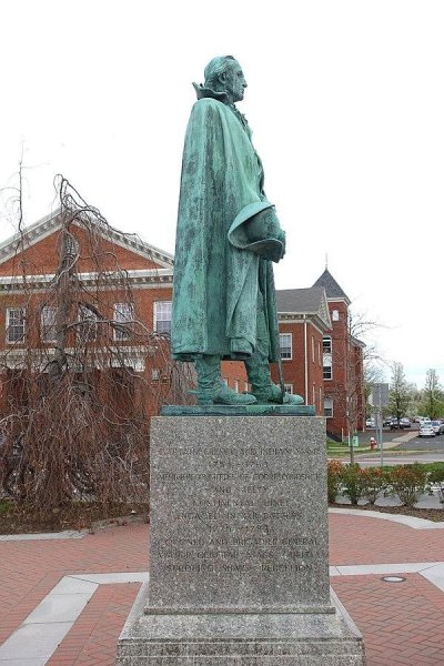 A bronze sword that was stolen from a Westfield, Mass., statue of Revolutionary WarGen. William Shepard in 1980 has been returned to the Westfield Historical Commission by the remorseful thief. The sword was replaced a few years after the theft, but the original will have a new home at a local museum. Photo by Daderot/Wikimedia Commons