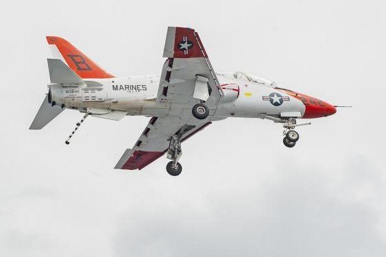 The U.S. Navy's T-45 Goshawk training aircraft were grounded last year after pilots complained of hypoxia episodes that have been blamed on oxygen delivery systems, though no specific resolution has been found. Photo courtesy of the U.S. Air Force