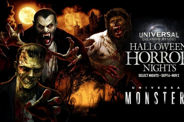 Universal Studios has announced that classic characters such as The Wolf Man and Frankenstein's Monster will be featured in a haunted maze at Halloween Horror Nights 2019. Image courtesy of Universal Studios