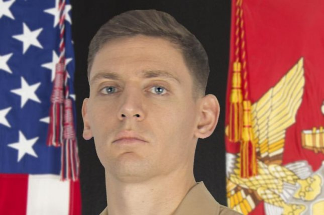"""Sgt. Wolfgang """"Wolf"""" K. Weninger, 28, a critical skills operator assigned to the Marine Raider Training Center, suffered fatal injuries while participating in the U.S. Army's Basic Airborne Course 24-20, Tuesday. Photo Illustration by Gunnery Sgt. Lynn Kinney/U.S. Marines"""
