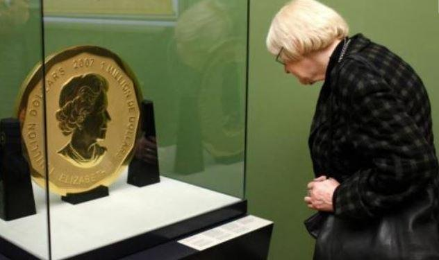 Two arrested over 100 kg gold coin robbery in Berlin
