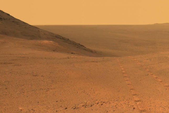 Opportunity's Pancam photographed the Mars' Perseverance Valley in June before the dust storm disrupted the rover's communications with Earth. Photo by NASA/JPL-Caltech/Cornell/Arizona State University