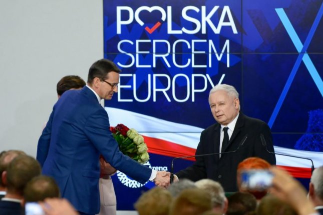 Poland right wing party wins elections