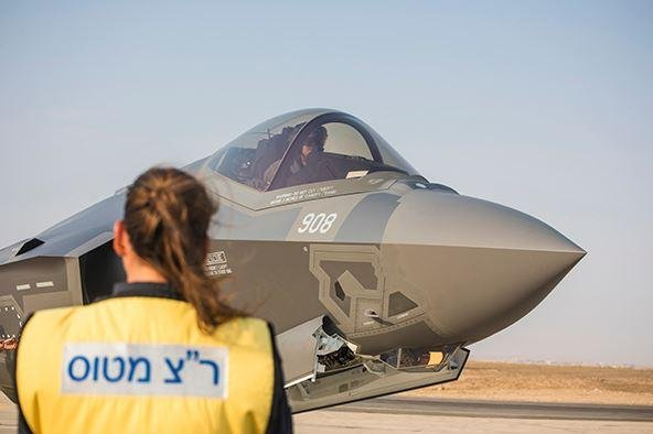 Israeli Defense Minister Benny Gantz said Israel is updating it's plans to potentially strike nuclear facilities in Iran. Pictured, an Israeli prepares for takeoff. Photo courtesy of Israel Defense Force