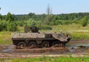 Ukraine's Kharkiv Morozov Machine-Building Design Bureau's BTR-4E. (Photo: KMBD)