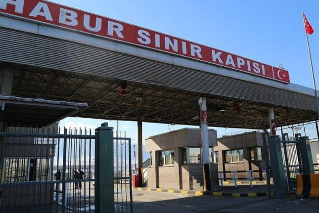 The Habur gate is the only border crossing between Iraq and Turkey. Iraqi military forces now control the Ibhahim Khalil gate, on the other side. Photo courtesy of Anadolu Agency