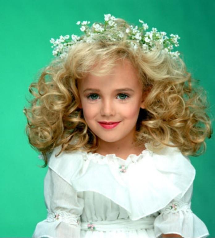 Murdered 6-year-old beauty queen JonBenét Ramsey.