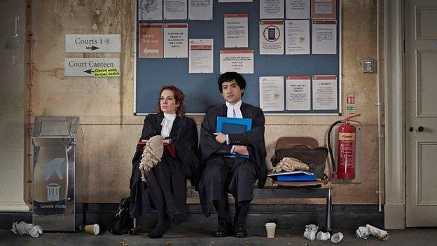 Katherine Parkinson and Will Sharpe are returning for a second season of Defending the Guilty. Photo courtesy of the BBC
