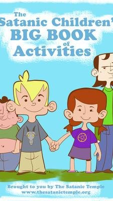 The Satanic Temple would like to distribute 'The Satanic Children's Big Book of Activities' and other literature to public schools in Orange County, Fla. (The Satanic Temple)